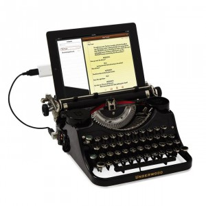 USB Typewriter (c) Uncommon Goods