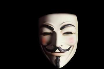 Máscara Guy Fawkes (c) direitos reservados